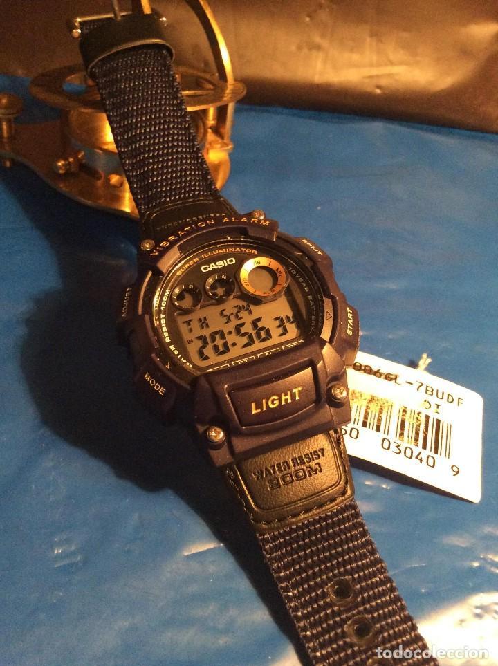 Relojes - Casio: RELOJ CASIO W 735 ¡¡ VIBRATION ALARM !! ¡¡NUEVO¡¡ ( VER FOTOS ) - Foto 6 - 128236803