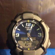 Relojes - Casio: RELOJ CASIO HDO 600 AZUL ¡¡ BATERIA DE 10 AÑOS !! VINTAGE ¡¡ AÑOS 90 !! - ¡¡¡¡NUEVO!!!!. Lote 128678075