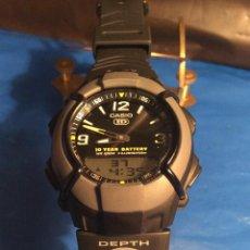 Relojes - Casio: RELOJ CASIO HDO 600 NEGRO ¡¡ BATERIA DE 10 AÑOS !! VINTAGE ¡¡ AÑOS 90 !! - ¡¡¡¡NUEVO!!!!. Lote 128678471