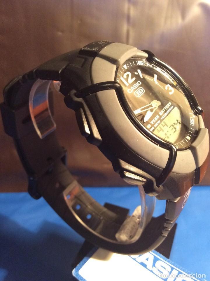 Relojes - Casio: RELOJ CASIO HDO 600 NEGRO ¡¡ BATERIA DE 10 AÑOS !! VINTAGE ¡¡ AÑOS 90 !! - ¡¡¡¡NUEVO!!!! - Foto 3 - 128678471