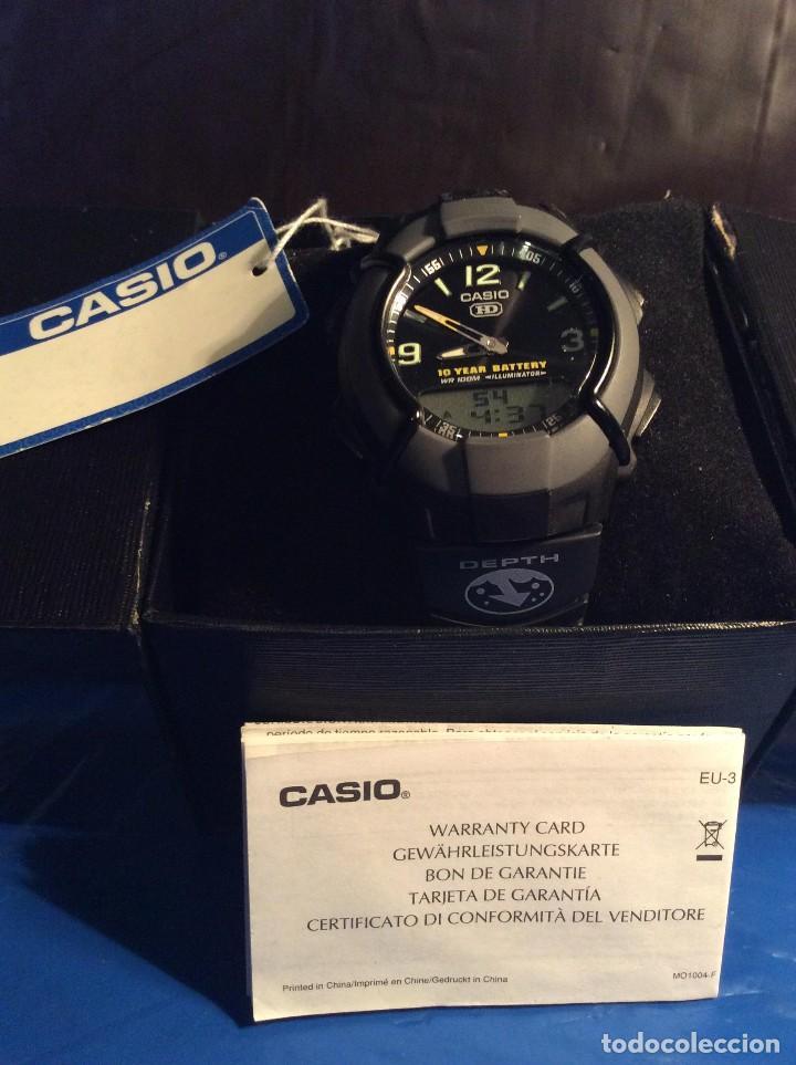 Relojes - Casio: RELOJ CASIO HDO 600 NEGRO ¡¡ BATERIA DE 10 AÑOS !! VINTAGE ¡¡ AÑOS 90 !! - ¡¡¡¡NUEVO!!!! - Foto 5 - 128678471