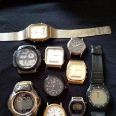 Relojes - Casio: LOTE DE RELOJES CASIO. Lote 128787091