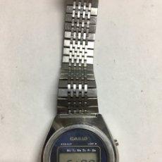 Relojes - Casio: RELOJ CASIO VINTAGE EN ACERO COMPLETO MODELO 18QR-15 JAPAN EN FUNCIONAMIENTO. Lote 128881975