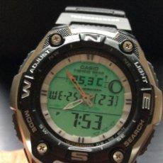 Relojes - Casio: RELOJ CASIO AQW 101 ¡¡ FISHING GEAR !! - PESCA - ¡¡NUEVO!! (VER FOTOS). Lote 129188183