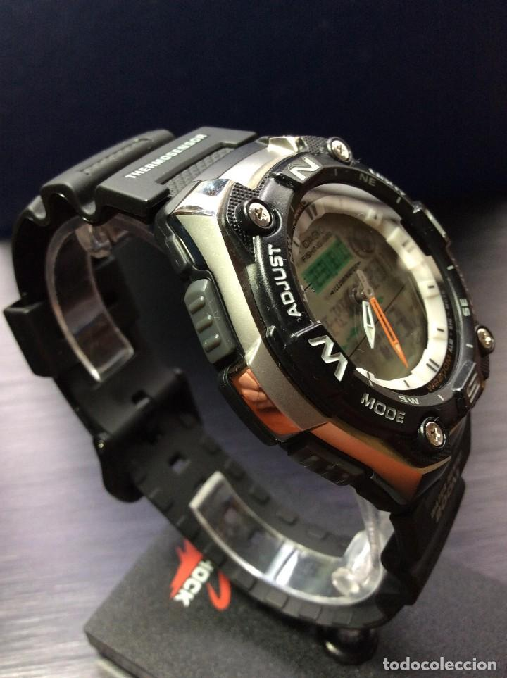 Relojes - Casio: RELOJ CASIO AQW 101 ¡¡ FISHING GEAR !! - PESCA - ¡¡NUEVO!! (VER FOTOS) - Foto 8 - 129188183