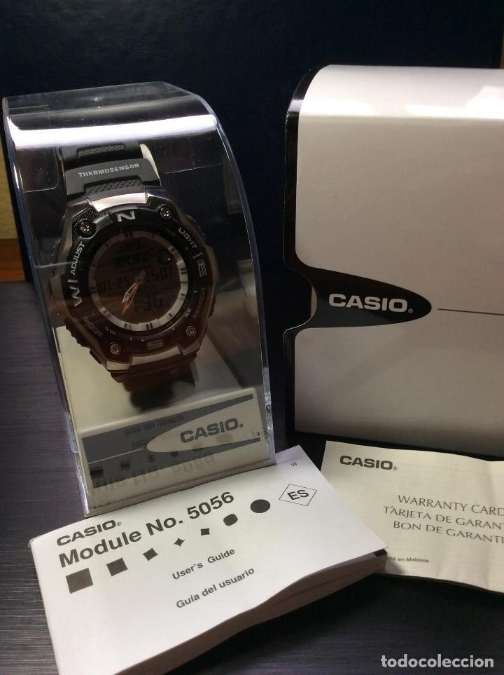 Relojes - Casio: RELOJ CASIO AQW 101 ¡¡ FISHING GEAR !! - PESCA - ¡¡NUEVO!! (VER FOTOS) - Foto 9 - 129188183