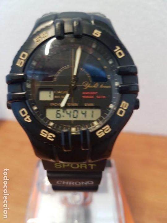 Relojes - Casio: Reloj caballero Vintage CASIO analógico digital caja silicona tapa de acero, correa silicona nueva - Foto 18 - 130064671