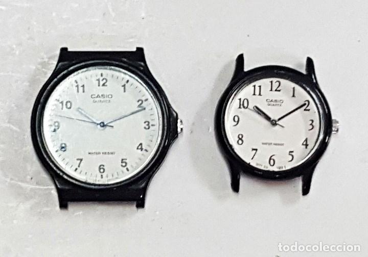 2 RELOJES CASIO MQ-24 Y LQ-124. (Relojes - Relojes Actuales - Casio)