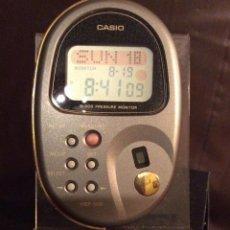 Relojes - Casio: RELOJ CASIO HBP 500 BLACK ¡¡TENSIOMETRO!! ¡¡ AÑO 90 ¡¡NUEVO!! VINTAGE !!!!! (VER FOTOS). Lote 131296979