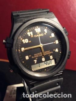 Relojes - Casio: RELOJ CASIO AW 5 CON ¡¡ BARRAS PROTECTORAS !! VINTAGE ¡¡ AÑOS 90 !! - ¡¡¡¡NUEVO!!!! - Foto 2 - 131650726
