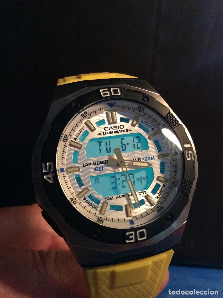 Relojes - Casio: RELOJ CASIO A 164 W ILUMINATOR VINTAGE ¡¡ NUEVO !! - Foto 3 - 79795561