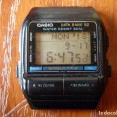 Relojes - Casio: RELOJ CASIO DB-55W DB55W FUNCIONANDO . Lote 133569222