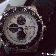 Relojes - Casio: CASIO: RELOJ CRONOGRAFO DE CABALLERO - SUMERGIBLE 200 M - MOD MSY500 *IMPECABLE*. Lote 130332030