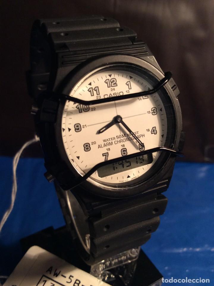 RELOJ CASIO AW 5 ¡¡¡ BARRAS PROTECTORAS !!! VINTAGE ¡¡NUEVO!! (VER FOTOS) (Relojes - Relojes Actuales - Casio)
