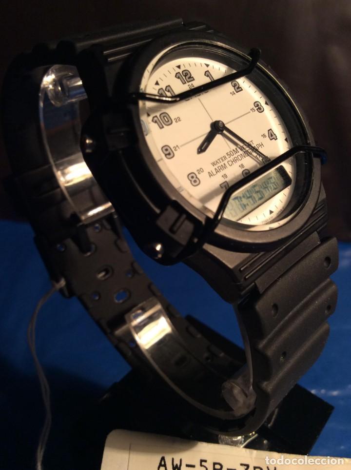 Relojes - Casio: RELOJ CASIO AW 5 ¡¡¡ BARRAS PROTECTORAS !!! VINTAGE ¡¡NUEVO!! (VER FOTOS) - Foto 2 - 135459582
