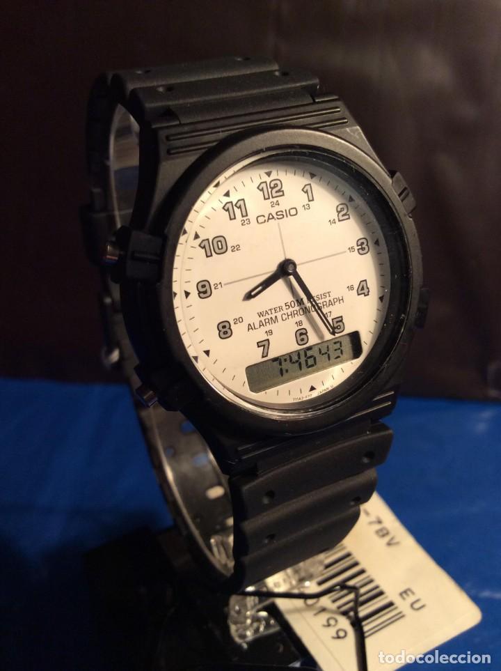 Relojes - Casio: RELOJ CASIO AW 5 ¡¡¡ BARRAS PROTECTORAS !!! VINTAGE ¡¡NUEVO!! (VER FOTOS) - Foto 4 - 135459582