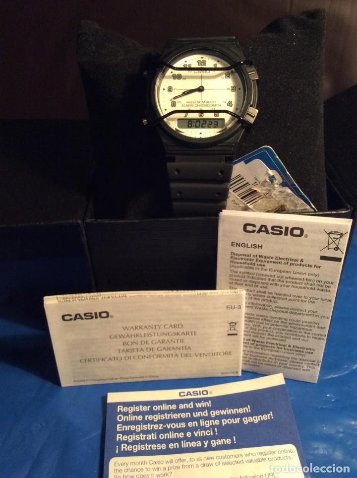 Relojes - Casio: RELOJ CASIO AW 5 ¡¡¡ BARRAS PROTECTORAS !!! VINTAGE ¡¡NUEVO!! (VER FOTOS) - Foto 5 - 135459582