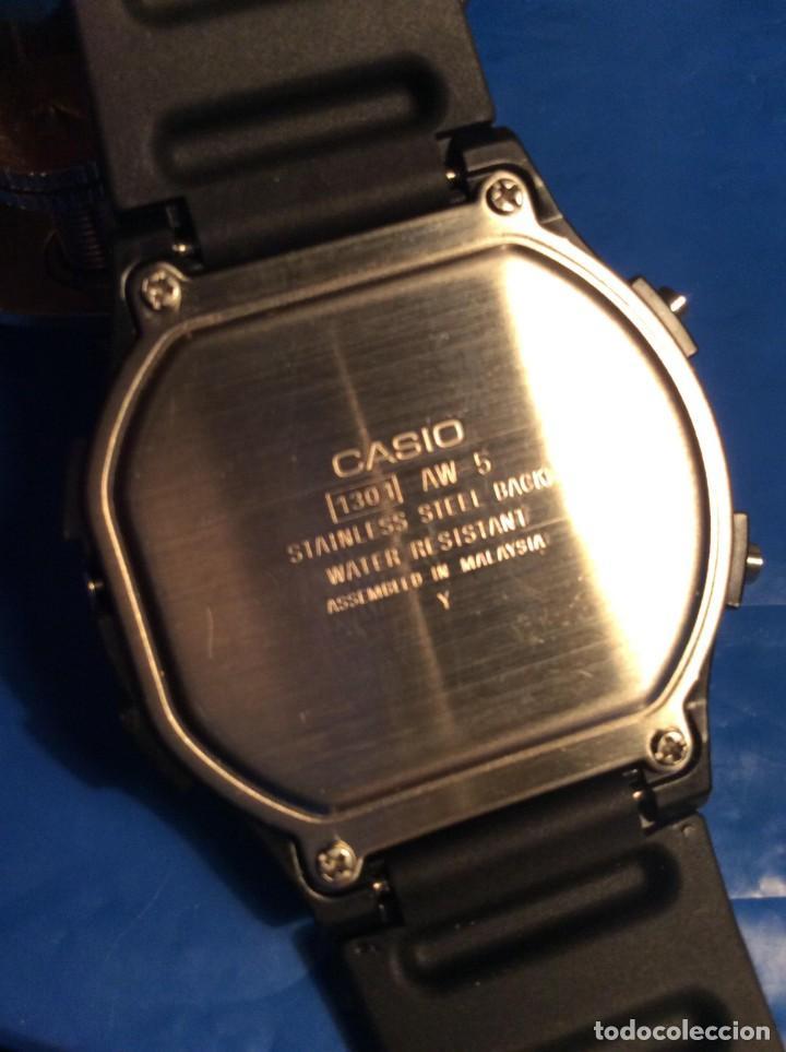 Relojes - Casio: RELOJ CASIO AW 5 ¡¡¡ BARRAS PROTECTORAS !!! VINTAGE ¡¡NUEVO!! (VER FOTOS) - Foto 6 - 135459582