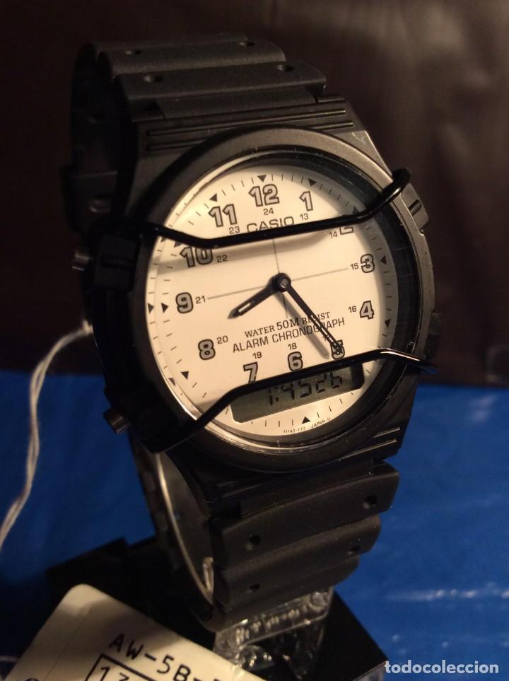 Relojes - Casio: RELOJ CASIO AW 5 ¡¡¡ BARRAS PROTECTORAS !!! VINTAGE ¡¡NUEVO!! (VER FOTOS) - Foto 7 - 135459582