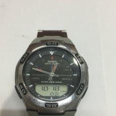 Relojes - Casio: RELOJ CASIO WAVE CEPTOR WVA-105H EN FUNCIONAMIENTO. Lote 136695609