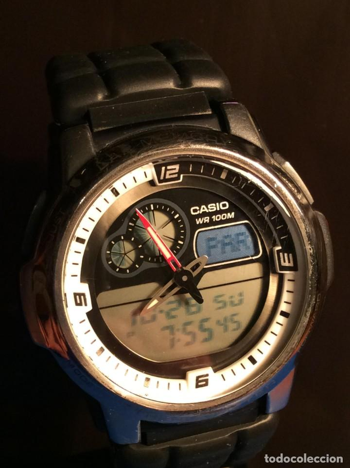RELOJ CASIO AQF 102 ¡¡ THERMOMETER !! VINTAGE (VER FOTOS) (Relojes - Relojes Actuales - Casio)