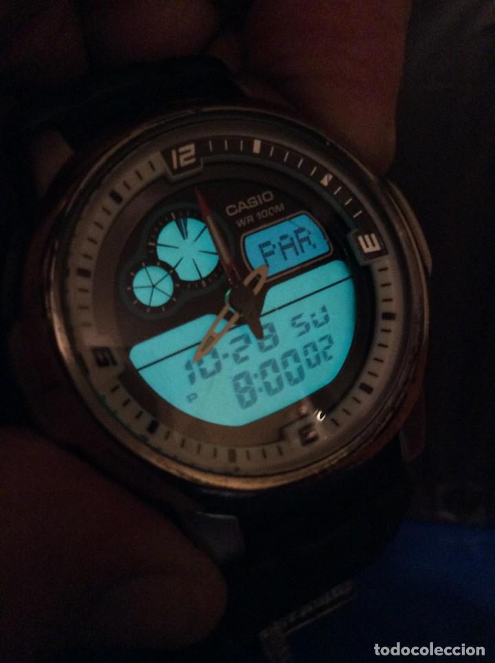 Relojes - Casio: RELOJ CASIO AQF 102 ¡¡ THERMOMETER !! VINTAGE (VER FOTOS) - Foto 3 - 138624062