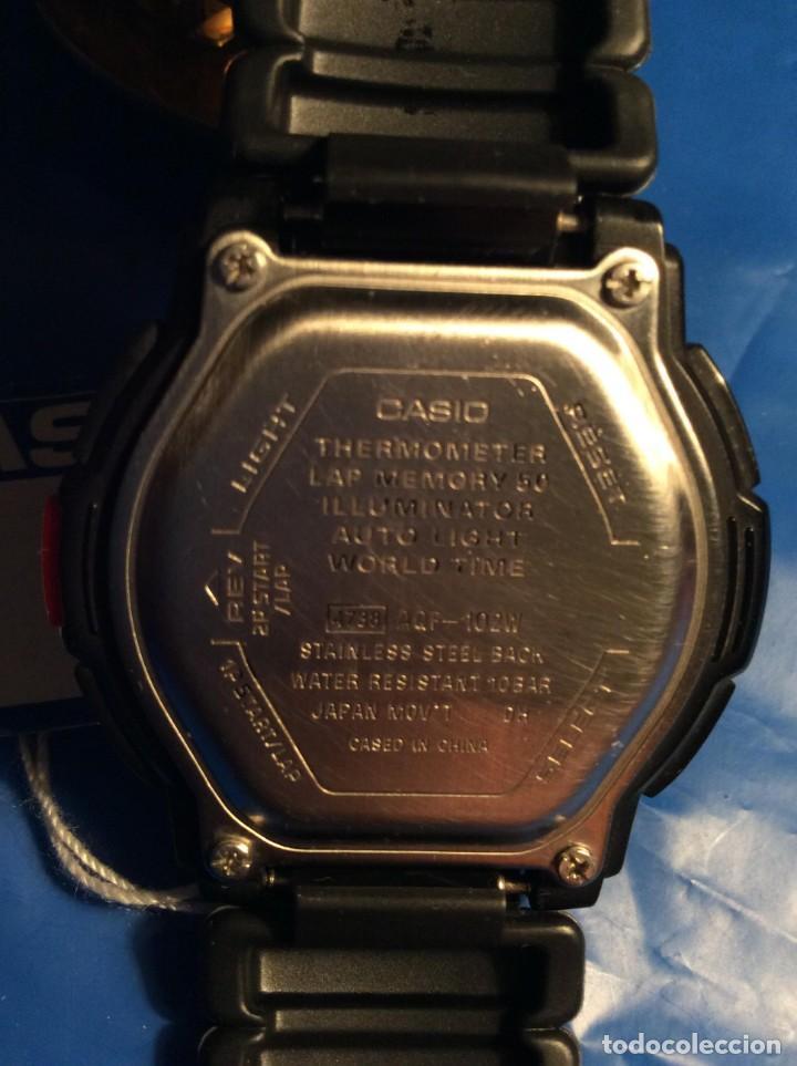 Relojes - Casio: RELOJ CASIO AQF 102 ¡¡ THERMOMETER !! VINTAGE (VER FOTOS) - Foto 8 - 138624062