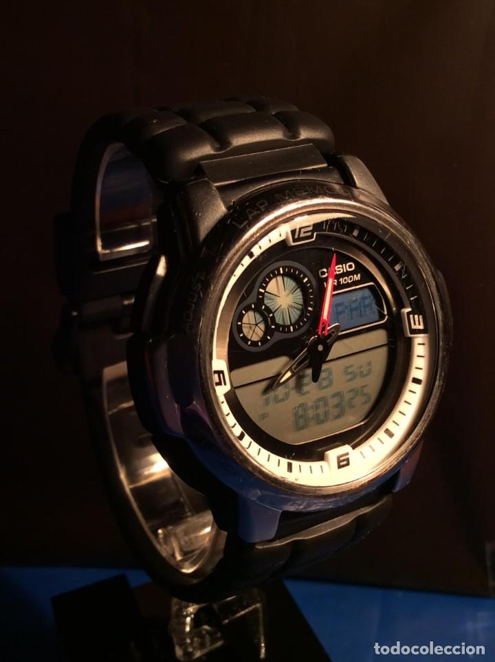 Relojes - Casio: RELOJ CASIO AQF 102 ¡¡ THERMOMETER !! VINTAGE (VER FOTOS) - Foto 2 - 138624062