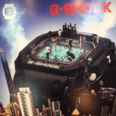 Relojes - Casio: CASIO G SHOCK ¡¡¡ ESPECTACULAR CARTEL PUBLICIDAD!!! 1,85 M. (VER FOTOS). Lote 138711238