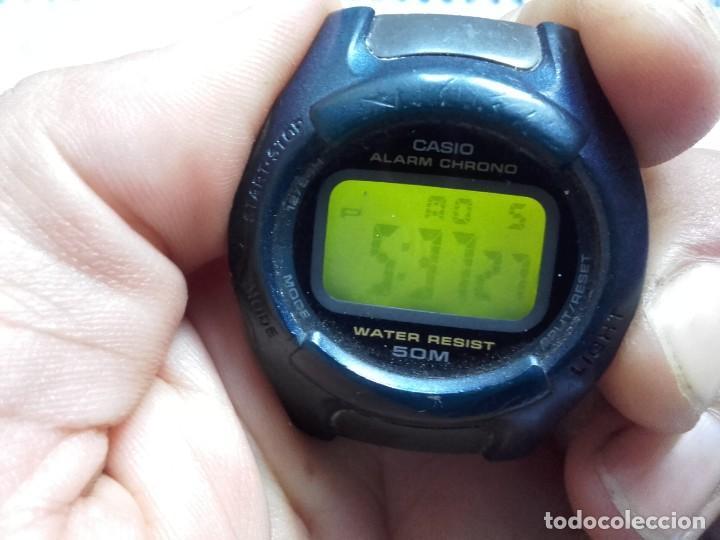 Relojes - Casio: Lote Casio DB-36 DATA BANK Y W-43 FUNCIONAN AMBOS RELOJES - Foto 2 - 139073674