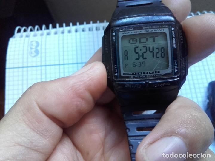 Relojes - Casio: Lote Casio DB-36 DATA BANK Y W-43 FUNCIONAN AMBOS RELOJES - Foto 5 - 139073674