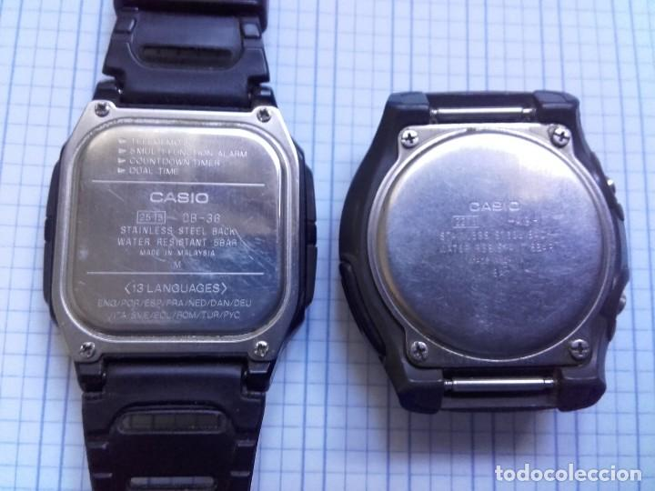 Relojes - Casio: Lote Casio DB-36 DATA BANK Y W-43 FUNCIONAN AMBOS RELOJES - Foto 6 - 139073674