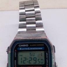 Relojes - Casio: RELOJ DIGITAL CASIO A168 COREA ESLABÓNES FUNCIONA PERFECTAMENTE. Lote 143456589