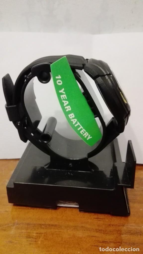 Relojes - Casio: RELOJ CASIO ESFERA DORADA ,WATER RESIST 100M. BATERÍA 10 AÑOS.NUEVO A ESTRENAR. - Foto 2 - 140654378
