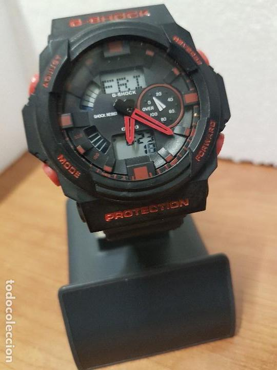 Relojes - Casio: Reloj caballero CASIO analogico y digital de caucho y tapa acero, correa de resina nueva sin uso - Foto 3 - 141471086