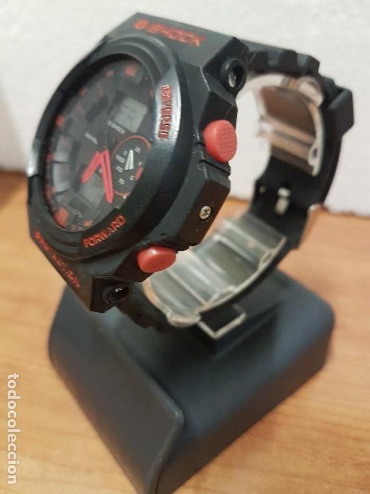 Relojes - Casio: Reloj caballero CASIO analogico y digital de caucho y tapa acero, correa de resina nueva sin uso - Foto 4 - 141471086