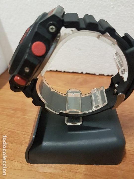 Relojes - Casio: Reloj caballero CASIO analogico y digital de caucho y tapa acero, correa de resina nueva sin uso - Foto 5 - 141471086