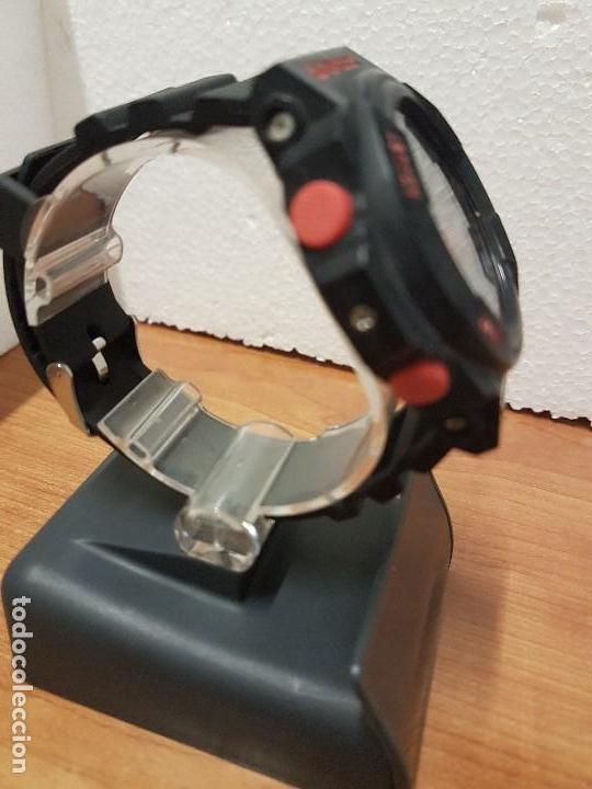 Relojes - Casio: Reloj caballero CASIO analogico y digital de caucho y tapa acero, correa de resina nueva sin uso - Foto 7 - 141471086