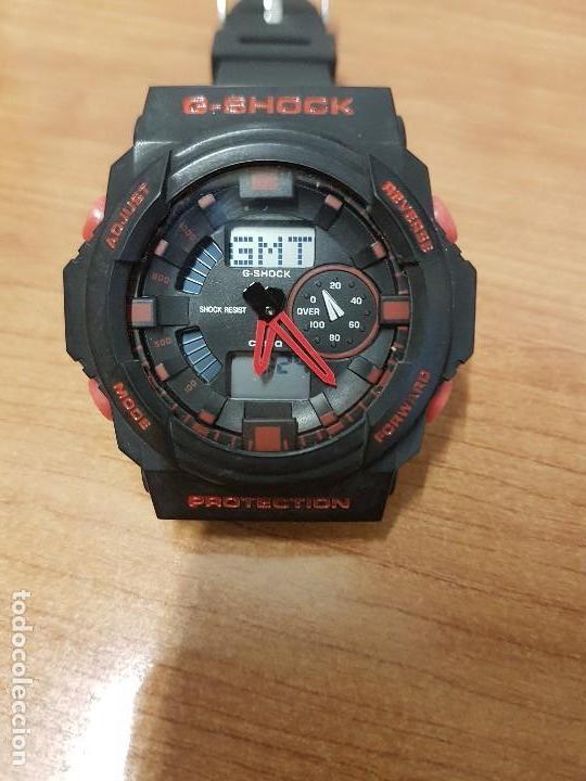 Relojes - Casio: Reloj caballero CASIO analogico y digital de caucho y tapa acero, correa de resina nueva sin uso - Foto 9 - 141471086