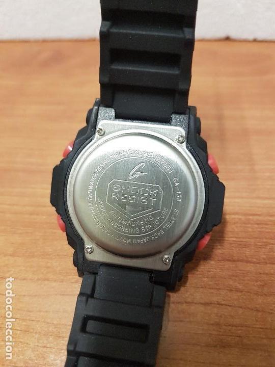 Relojes - Casio: Reloj caballero CASIO analogico y digital de caucho y tapa acero, correa de resina nueva sin uso - Foto 10 - 141471086