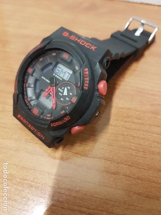 Relojes - Casio: Reloj caballero CASIO analogico y digital de caucho y tapa acero, correa de resina nueva sin uso - Foto 11 - 141471086
