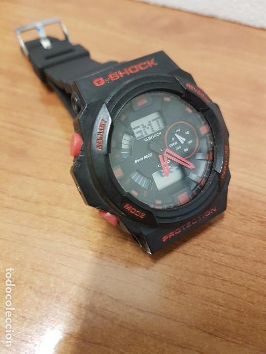 Relojes - Casio: Reloj caballero CASIO analogico y digital de caucho y tapa acero, correa de resina nueva sin uso - Foto 12 - 141471086
