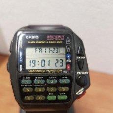 Relojes - Casio: CABALLERO (VINTAGE) CASIO DIGITAL CUARZO, 1174. CMD-40 CON CORREA SILICONA NO ORIGINAL NUEVA. Lote 141491090