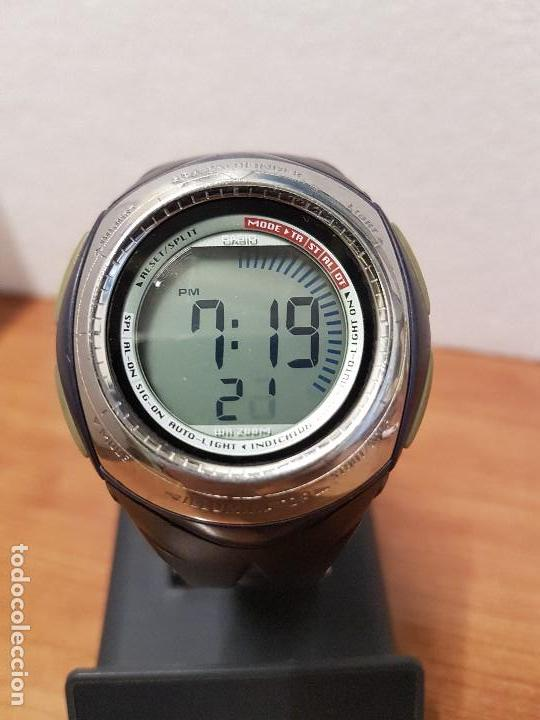 Negra De Correa Original Sea Con Pathfinder2430 Spm Casio Cuarzo Caballero 30h Reloj mn08wN