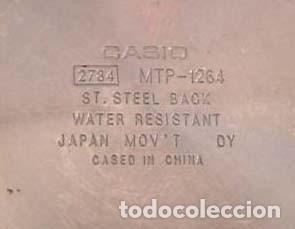 Relojes - Casio: Casio Quartz / Mod. MTP 1264 - Foto 2 - 143033166