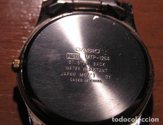 Relojes - Casio: Casio Quartz / Mod. MTP 1264 - Foto 4 - 143033166