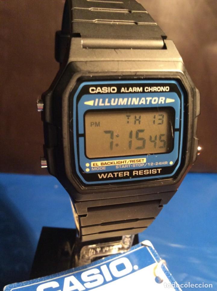 Relojes - Casio: RELOJ CASIO F 105 ¡¡ VINTAGE ILUMINATOR !! ¡¡NUEVO¡¡ (VER FOTOS) - Foto 2 - 160868256