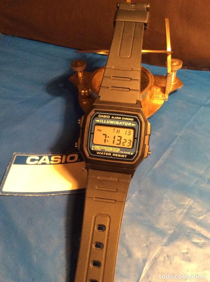 Relojes - Casio: RELOJ CASIO F 105 ¡¡ VINTAGE ILUMINATOR !! ¡¡NUEVO¡¡ (VER FOTOS) - Foto 3 - 160868256