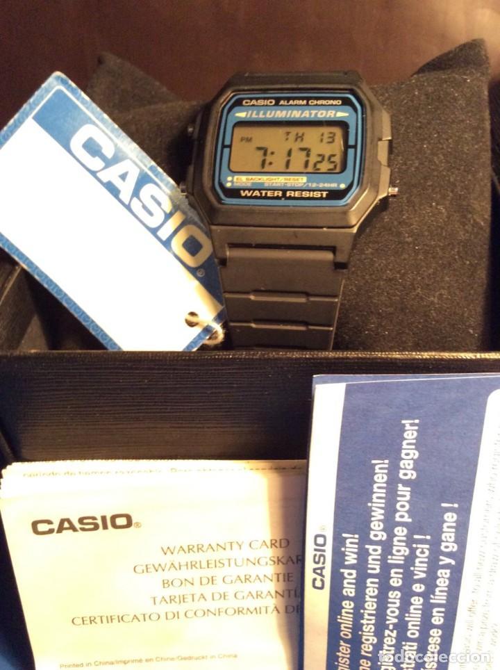 Relojes - Casio: RELOJ CASIO F 105 ¡¡ VINTAGE ILUMINATOR !! ¡¡NUEVO¡¡ (VER FOTOS) - Foto 4 - 160868256