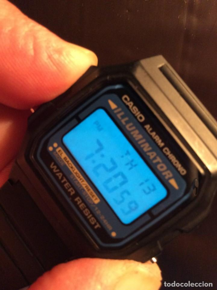 Relojes - Casio: RELOJ CASIO F 105 ¡¡ VINTAGE ILUMINATOR !! ¡¡NUEVO¡¡ (VER FOTOS) - Foto 5 - 160868256